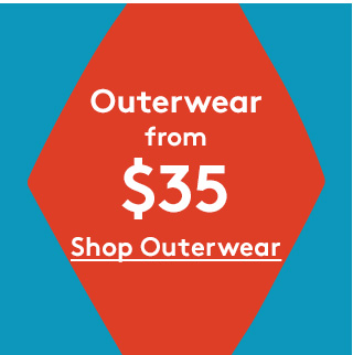 Outerwear from $35 | Shop Outerwear