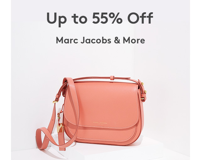 Up to 55% Off Marc Jacobs & More